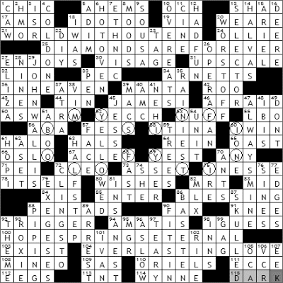 0524-09 New York Times Crossword Answers 24 May 09
