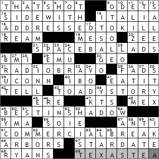 0114-10 New York Times Crossword Answers 14 Jan 10