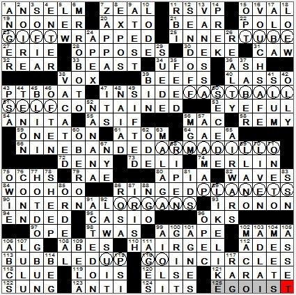 0610 12 New York Times Crossword Answers 10 Jun 12 Sunday Nyxcrossword Com