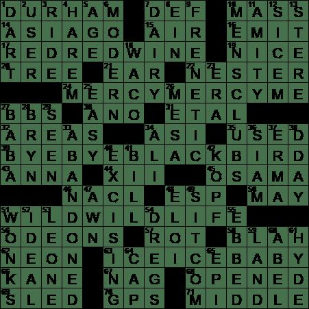 Hyde Alter Ego Crossword Clue