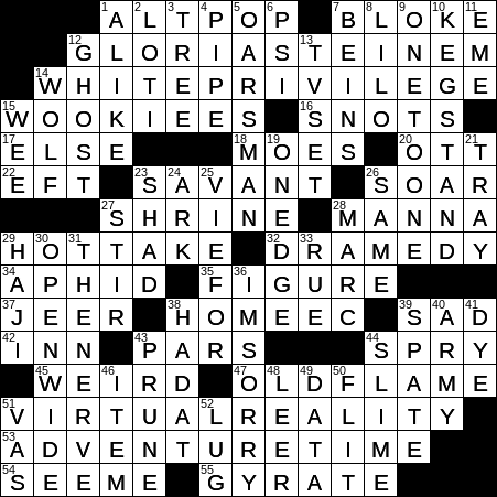 0311 17 New York Times Crossword Answers 11 Mar 17 Saturday Nyxcrossword Com