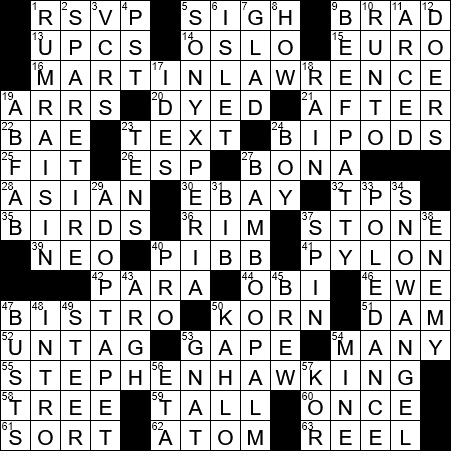 0706 17 New York Times Crossword Answers 6 Jul 17 Thursday Nyxcrossword Com