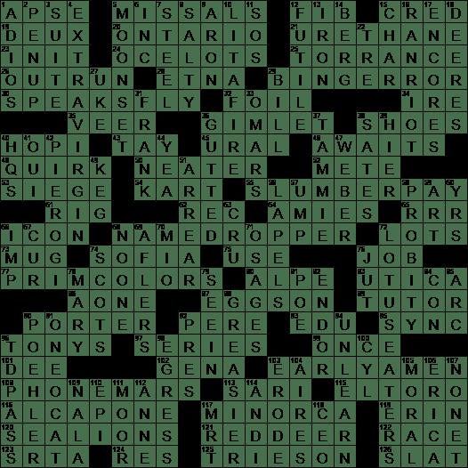 0218 18 Ny Times Crossword Answers 18 Feb 2018 Sunday Nyxcrossword Com