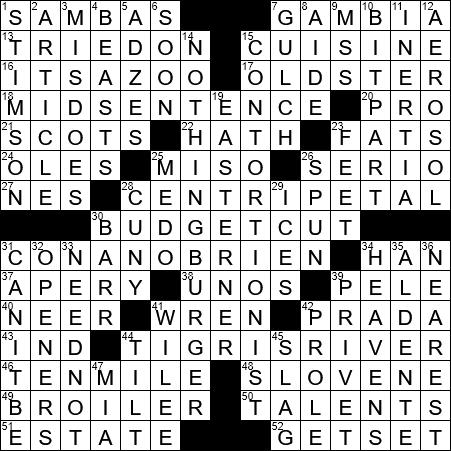 Lively dances in 2/4 time crossword clue Archives