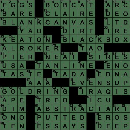 0108 19 Ny Times Crossword 8 Jan 19 Tuesday Nyxcrossword Com