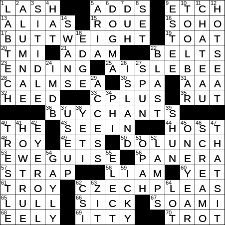 Myriad crossword clue Archives - NYXCrossword com