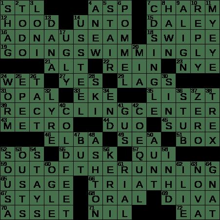 0225 19 Ny Times Crossword 25 Feb 19 Monday Nyxcrossword Com