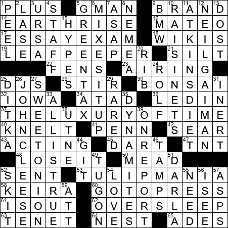 Dawn Of The Space Age Crossword Clue Archives