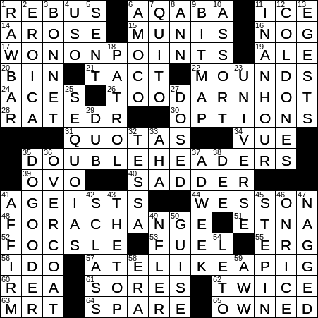 A ewe for you say crossword clue Archives - NYXCrossword com