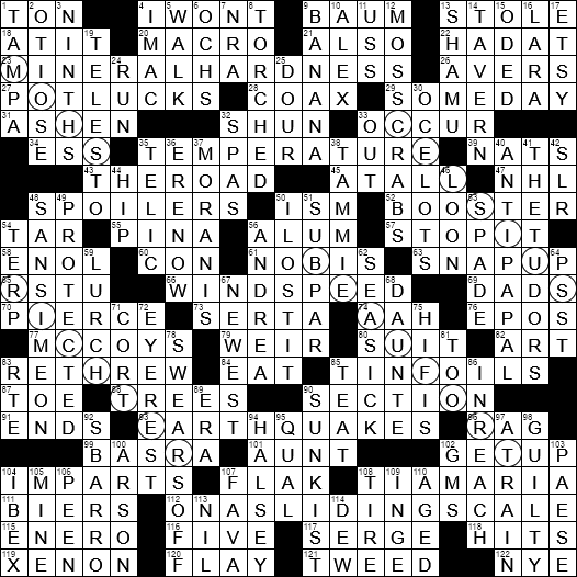image about Ny Times Sunday Crossword Printable referred to as 0512-19 NY Situations Crossword 12 May well 19, Sunday -