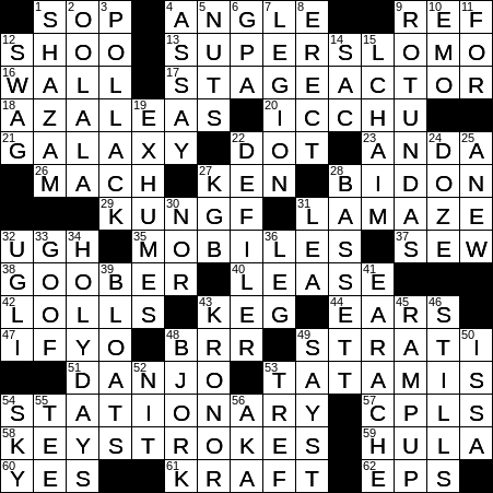 2008 animated film set in ancient China crossword clue