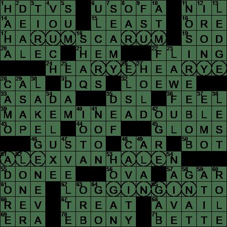 0701 19 Ny Times Crossword 1 Jul 19 Monday Nyxcrossword Com