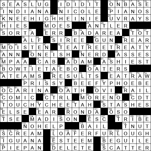 Agreement for exporting essential oils? crossword clue