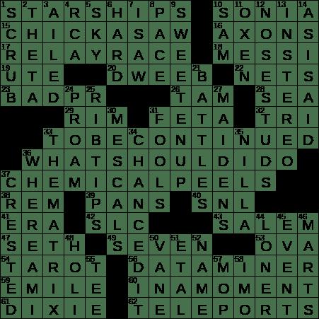0712-19 NY Times Crossword 12 Jul 19, Friday - NYXCrossword com