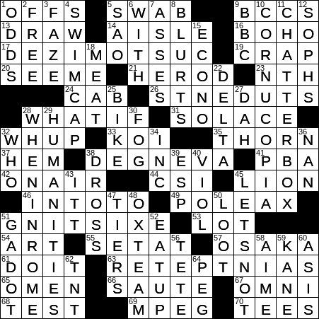 0711 19 Ny Times Crossword 11 Jul 19 Thursday Nyxcrossword Com