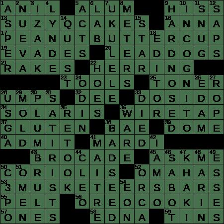 0906-19 NY Times Crossword 6 Sep 19, Friday - NYXCrossword com