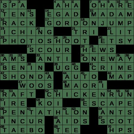 0902 19 Ny Times Crossword 2 Sep 19 Monday Nyxcrossword Com