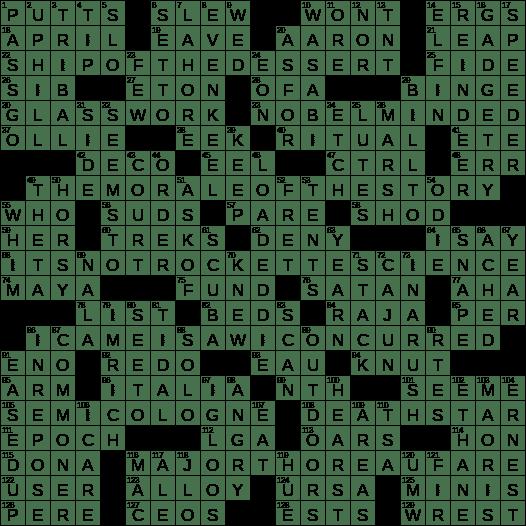 0929 19 Ny Times Crossword 29 Sep 19 Sunday Nyxcrossword Com