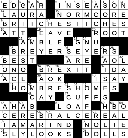 photo about New York Times Crossword Printable Free Sunday named