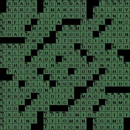 1013 19 Ny Times Crossword 13 Oct 19 Sunday Nyxcrossword Com