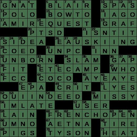1114 19 Ny Times Crossword 14 Nov 19 Thursday Nyxcrossword Com