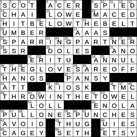 0115 20 Ny Times Crossword 15 Jan 20 Wednesday Nyxcrossword Com