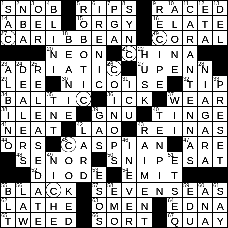 0122 20 Ny Times Crossword 22 Jan 20 Wednesday Nyxcrossword Com