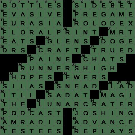 0221 20 Ny Times Crossword 21 Feb 20 Friday Nyxcrossword Com
