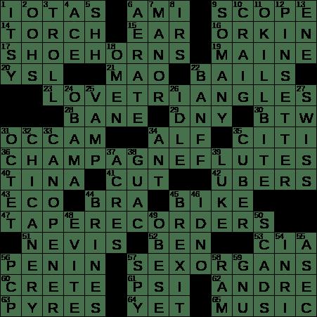 0204 20 Ny Times Crossword 4 Feb 20 Tuesday Nyxcrossword Com