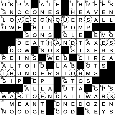 0212 20 Ny Times Crossword 12 Feb 20 Wednesday Nyxcrossword Com