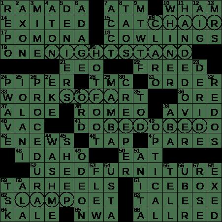 0205 20 Ny Times Crossword 5 Feb 20 Wednesday Nyxcrossword Com