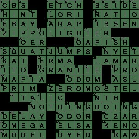 0302 20 Ny Times Crossword 2 Mar 20 Monday Nyxcrossword Com