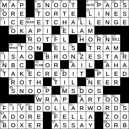 0402 20 Ny Times Crossword 2 Apr 20 Thursday Nyxcrossword Com