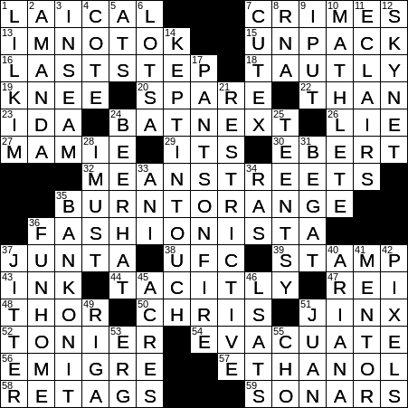 0515 20 Ny Times Crossword 15 May 20 Friday Nyxcrossword Com