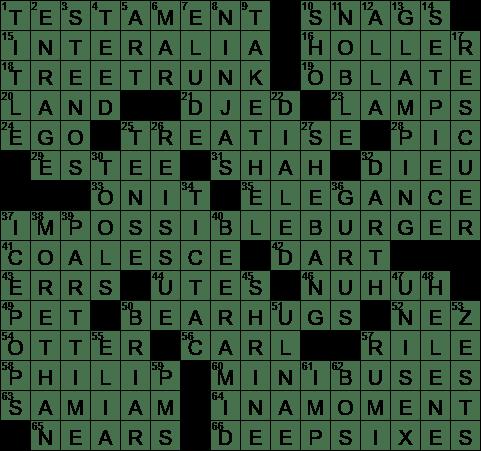 0509 20 Ny Times Crossword 9 May 20 Saturday Nyxcrossword Com