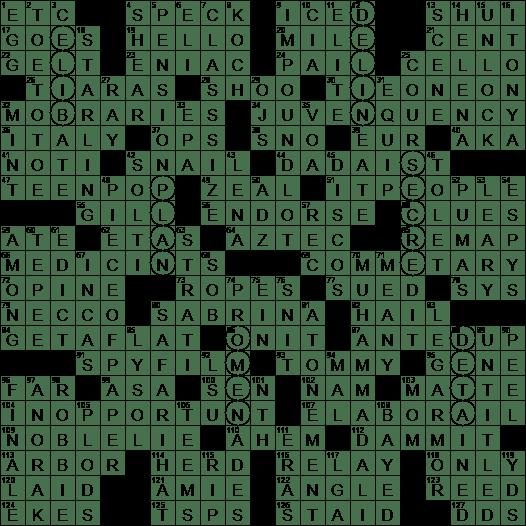 0531 20 Ny Times Crossword 31 May 20 Sunday Nyxcrossword Com