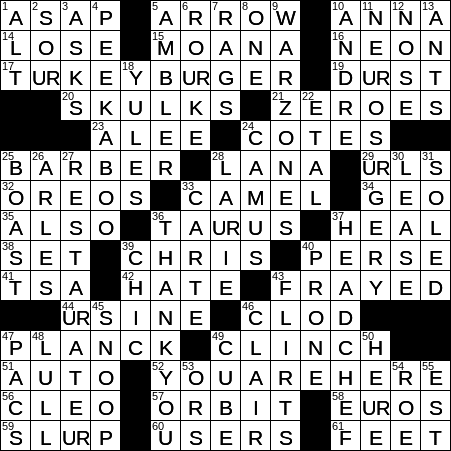 0506 20 Ny Times Crossword 6 May 20 Wednesday Nyxcrossword Com