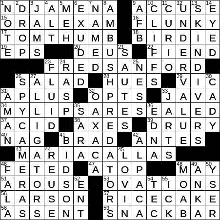 0606 20 Ny Times Crossword 6 Jun 20 Saturday Nyxcrossword Com