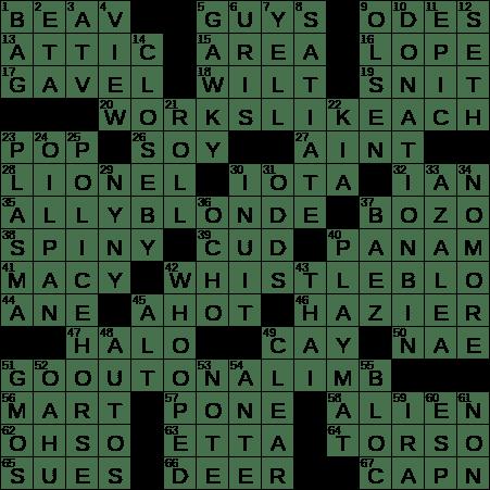 0625 20 Ny Times Crossword 25 Jun 20 Thursday Nyxcrossword Com