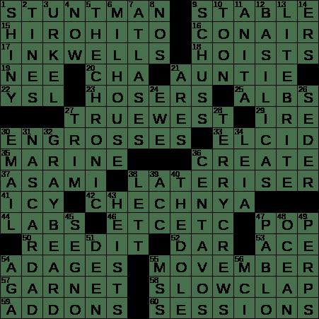 0710 20 Ny Times Crossword 10 Jul 20 Friday Nyxcrossword Com