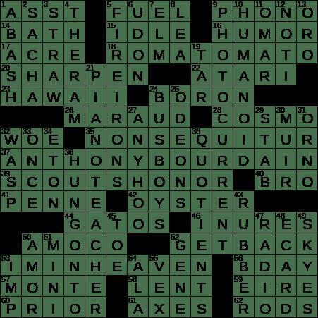 0703 20 Ny Times Crossword 3 Jul 20 Friday Nyxcrossword Com