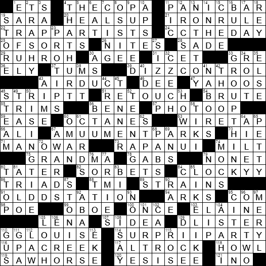 0719 20 Ny Times Crossword 19 Jul 20 Sunday Nyxcrossword Com