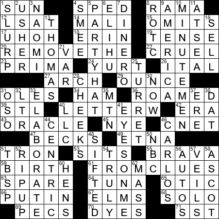 0723 20 Ny Times Crossword 23 Jul 20 Thursday Nyxcrossword Com