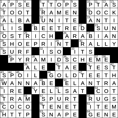 0828 20 Ny Times Crossword 28 Aug 20 Friday Nyxcrossword Com