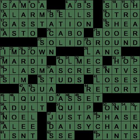 0803 20 Ny Times Crossword 3 Aug 20 Monday Nyxcrossword Com