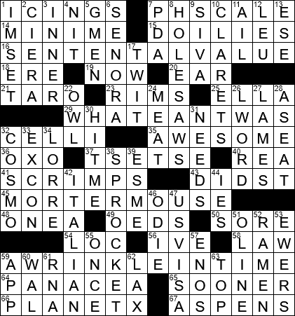 0820 20 Ny Times Crossword 20 Aug 20 Thursday Nyxcrossword Com