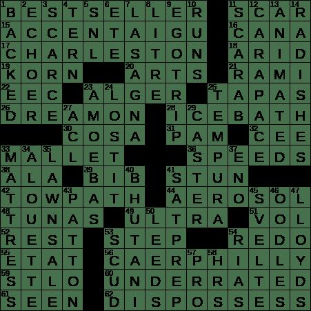 1031 20 Ny Times Crossword 31 Oct 20 Saturday Nyxcrossword Com