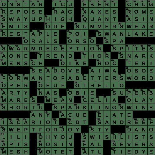 1101 20 Ny Times Crossword 1 Nov 20 Sunday Nyxcrossword Com