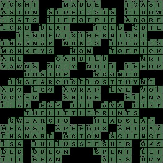 1018 20 Ny Times Crossword 18 Oct 20 Sunday Nyxcrossword Com