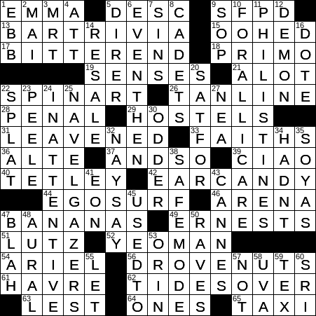 1106 20 Ny Times Crossword 6 Nov 20 Friday Nyxcrossword Com